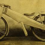 Zolnay Endre összecsukható motorkerékpárja