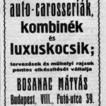 Bosanac Mátyás (Budapest)