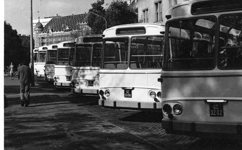 Ha éppen nem volt kéznél Ikarus... A cseh Karosa buszokból az 1970-es években több vidéki városba is jutott.